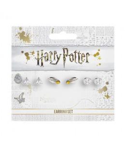 Harry Potter Set 3 Paires Boucles D'oreilles