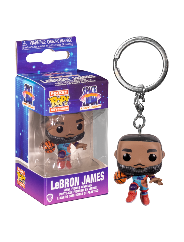 Funko POP! Keychain Space Jam - Lebron James
