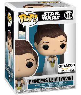 Funko POP! Star Wars n°459 Princess Leia (Yavin) (Amazon Exclusive)