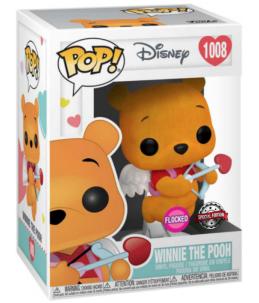 Funko POP! Disney n°1008 Winnie The Pooh (Valentine Flocked Special Edition)
