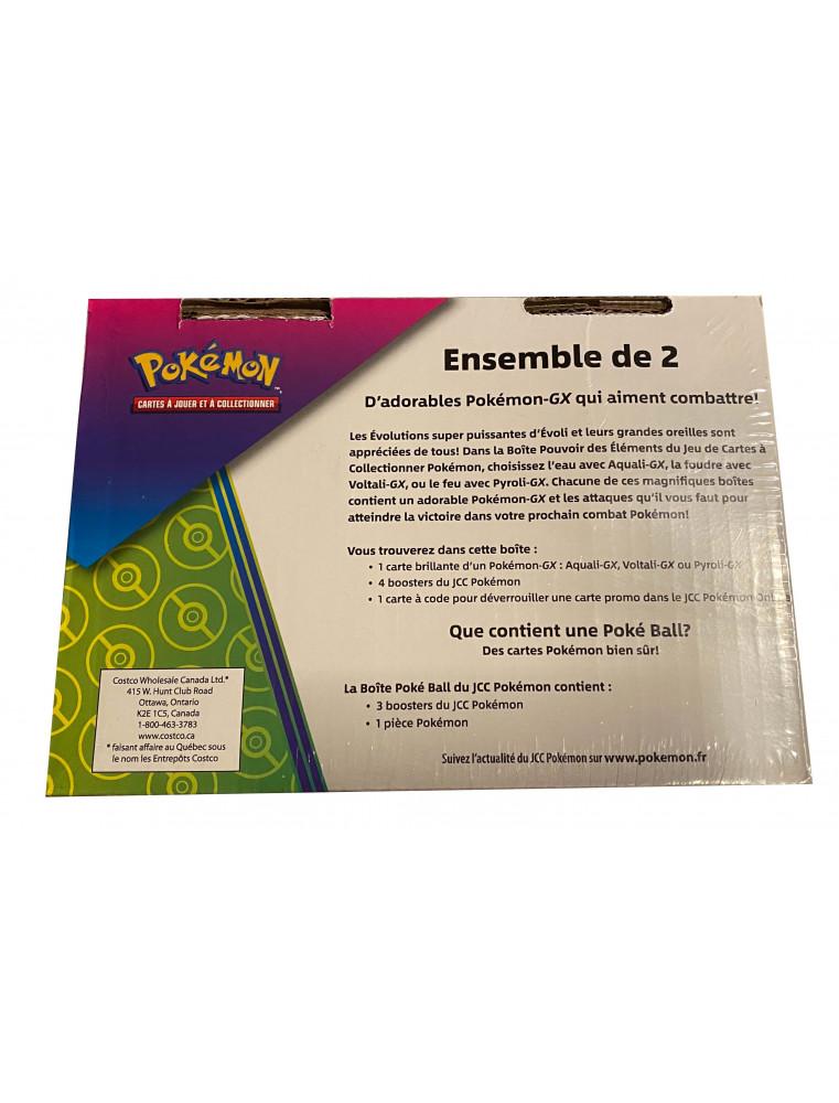 FR Pokémon Pokébox Aquali GX + Sombre Ball Tin PACK EXCLUSIF