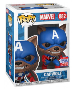 Funko POP! Marvel n°882 Capwolf (2021 Summer Convention)
