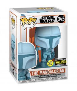 Funko POP! Star Wars n°345 The Mandalorian (GITD Entertainment Earth Exclusive)