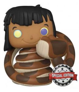 Funko POP! Disney n°987 Mowgli with Kaa (Special Edition)