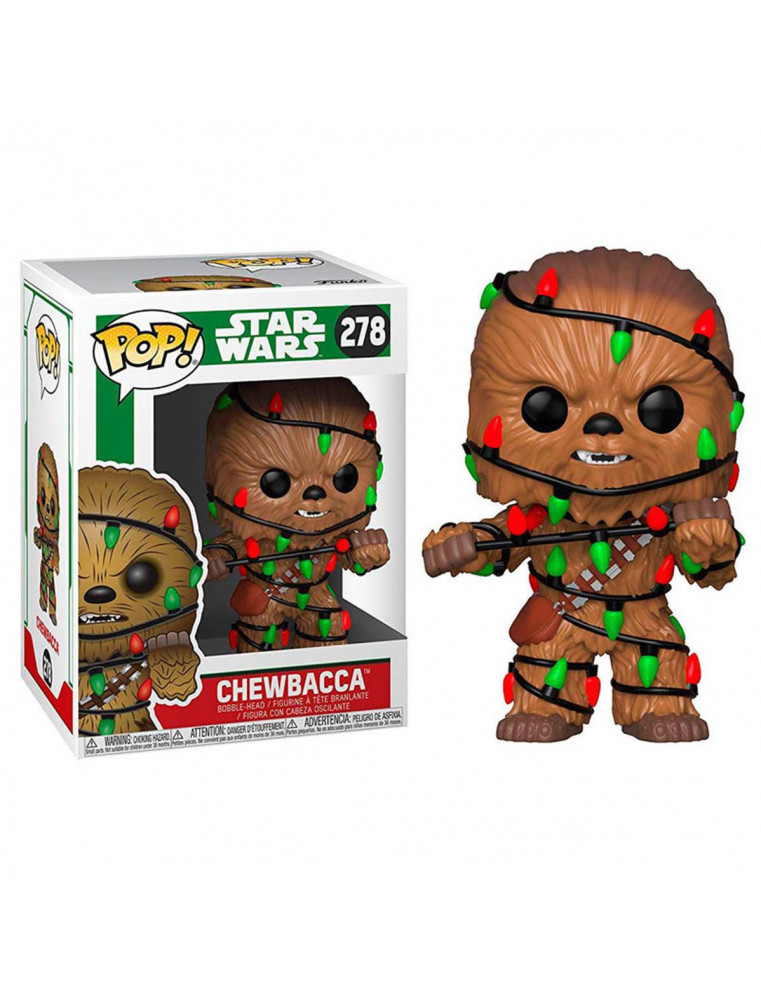 Funko POP! Star Wars n°278 Chewbacca with Lights