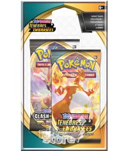 """[FR] Pokémon 1x Booster """"EB03 Ténèbres Embrasées"""" + 1 EB02 OFFERT"""