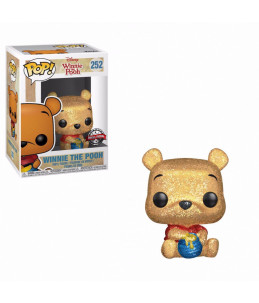 PRECO 24/10/20 Funko POP! Disney n°252 Winnie The Pooh seated (Diamond Glitter) (Special Edition)