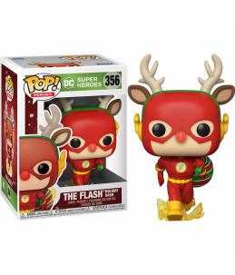 Funko POP!  DC Comics - Holidays n°356 The Flash Holiday Dash
