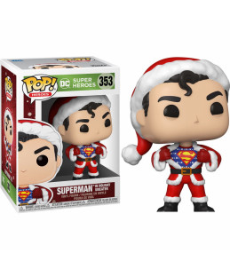 Funko POP!  DC Comics - Holidays n°353 Superman In Holiday Sweater