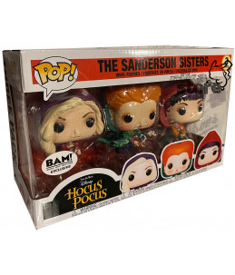 Funko POP! Hocus Pocus 3PACK The Sanderson Sisters (BAM! Exclusive)