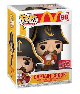 Funko POP! McDonald's n°99 Captain Crook (2020 Fall Convention Exclusive)