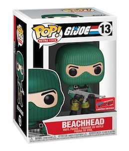 Funko POP! G.I. Joe n°13 Beachhead (2020 Fall Convention Exclusive)