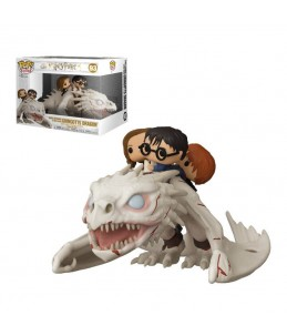 PRECO 12/20 Funko POP! Harry Potter n°93 - Harry, Hermione, Ron Riding Gringots Dragon
