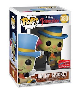 Funko POP! Pinocchio n°980 Jiminy Cricket (2020 Fall Convention Exclusive)