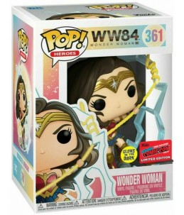 Funko POP! Wonder Woman 84 n°361 Wonder Woman (GITD 2020 Fall Convention Exclusive)