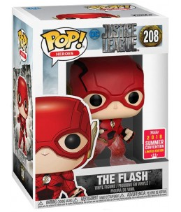 Funko POP!  Justice League n°208 The Flash (2018 Summer Convention)