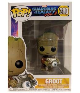 Funko POP! Les Gardiens de la Galaxie n°280 Groot (Exclusive)