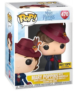 Funko POP! Disney n°470 Mary Poppins with umbrella (Hot Topic Exclusive)