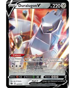 [FR] Pokémon Carte EB03.5 047/073 Duralugon V