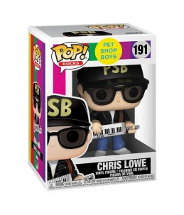 Preco 31/05/21 Funko POP! Pet Shop Boys n°191 Chris Lowe