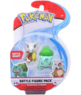 Pokémon Battle Figure Pack Série 4 - Bulbizarre et Cubone