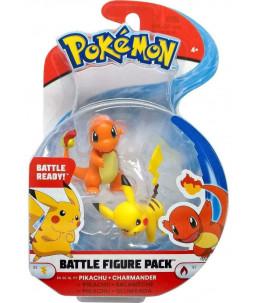 Pokémon Battle Figure Pack Série 4 - Pikachu et Salameche