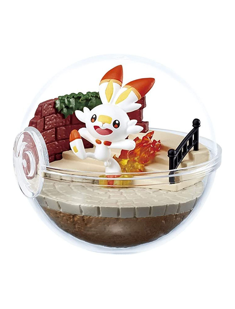 "PRECO 15/11/20 Re-Ment Pokémon ""Terrarium Collection Galar"" Flambino"
