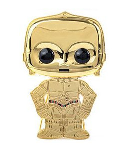 PRECO 31/12/20 Funko LG ENML Pin Wave 3 - Star Wars - C-3PO