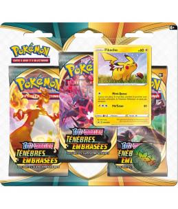 """[FR] Pokémon Tripack """"EB03 Ténèbres Embrasées"""" Pikachu"""