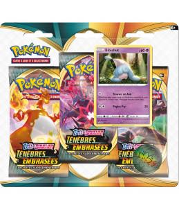 """[FR] Pokémon Tripack """"EB03 Ténèbres Embrasées"""" Bibichut"""