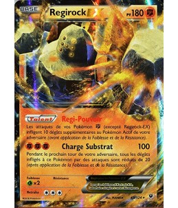 [FR] Pokémon Carte XY10 43/124 Regirock EX