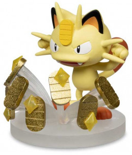 Pokémon Gallery Figures - Meowth « Pay Day »