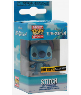 Funko Pocket POP! Keychain Lilo & Stitch - Metallic Stitch (Hot Topic Exclusive)