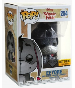 Funko POP! Winnie l'Ourson n°254 Eeyore (Diamond Hot Topic Exclusive)