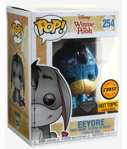 Funko POP! Winnie l'Ourson n°254 Eeyore (Diamond Hot Topic Exclusive) CHASE