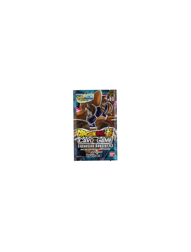 """[FR] Dragon Ball Super - Booster 12 cartes """"EB03 Expansion Booster 03"""""""