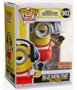 Funko POP! Les Minions n°902 Roller Skating Stuart (Boxlunch Exclusive)