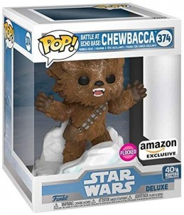 Funko POP! Star Wars n°374 Battle at Echo Base : Flocked Chewbacca (Amazon Exclusive) 3/6