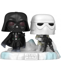 Funko POP! Star Wars n°377 Battle at Echo Base : Darth Vader and Snowtrooper  (Amazon Exclusive) 6/6