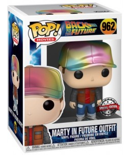 Funko POP! Retour Vers le Futur n°962 Marty in Future Outfit (Special Edition)