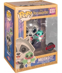 Funko POP! Pocahontas n°233 Meeko with Flit (Special Edition)