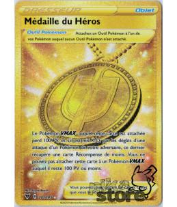 [FR] Pokémon Carte EB04 201/185 Médaille du Héros SECRETE