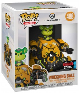 Funko POP! Overwatch n°488 Wrecking Ball (2019 Fall Convention)