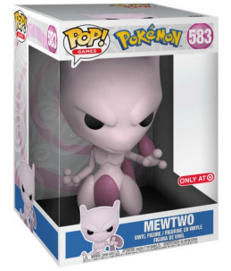 "Funko POP! Pokémon n°583 Mewtwo 10"" (Target Exclusive)"