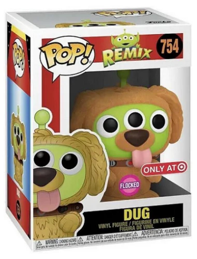Funko POP! Alien Remix n°754 Dug (Flocked Target Exclusive)