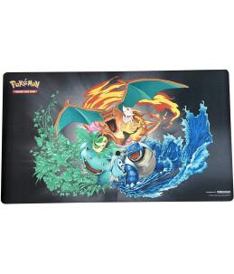ULTRA PRO Pokémon Playmat / Tapis de jeu - Florizarre, Dracaufeu et Tortank