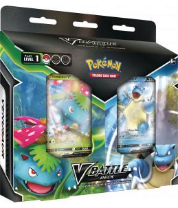 [FR] Pokémon Deck Combat V - Florizarre V et Tortank V