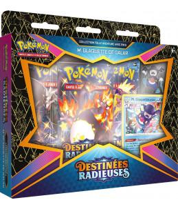 """PRECO 24/03/21 [FR] Pokémon Collection avec Pin's """"EB04.5 Destinées Radieuses"""" M. Glaquette de Galar"""