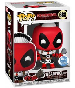 Funko POP! Marvel n°688 Deadpool French Maid (Funko Shop Exclusive)