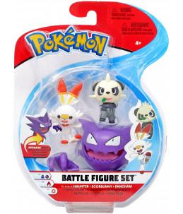 Pokémon Battle Figure Set - Spectrum, Flambino et Pandespiègle